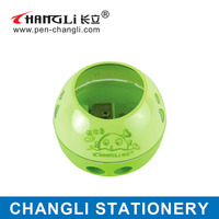 Changli Two hole plastic cute office pencil sharpener