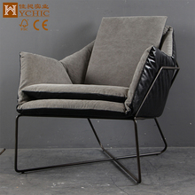 Factory price fancy living room antique wooden arm chairs