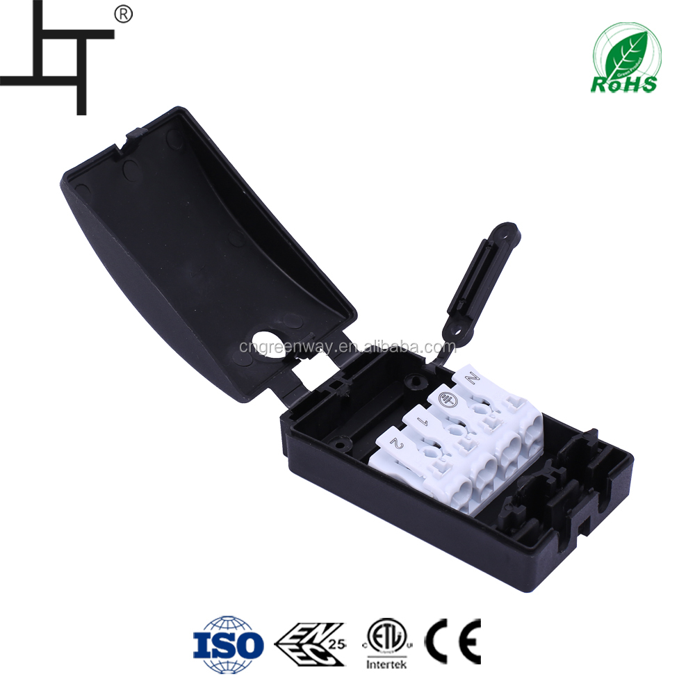 94v-2 grade electrical 4 way junction box with wire connector