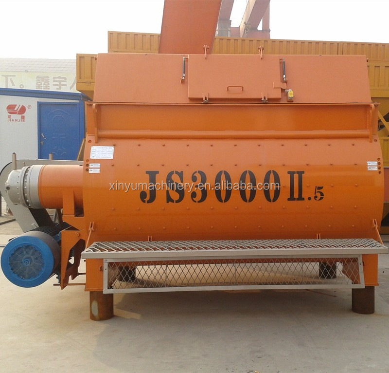 Automatic JS3000 concrete mixer concrete machine construction tool