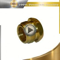 brass brass air brake hose fitting