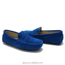 2015 wholesale fashion design leather men loafer shoes