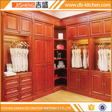Luxury solid wood large wardrobe armoires