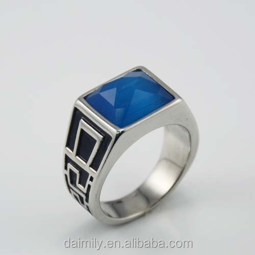 Very Cheap Fashion Jewelry Made in China Stainless Steel Classic Gothic Mans Rings