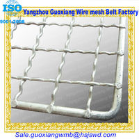 high quality weave stainless steel metal wire mesh trays