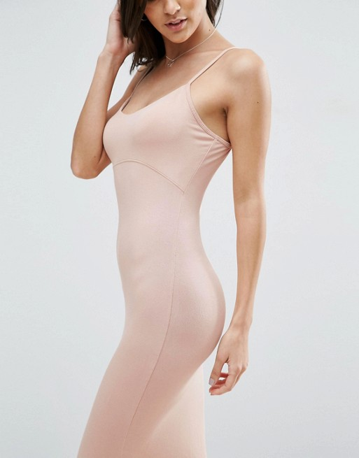 Women Newest Design Midi Cami Bodycon Dress