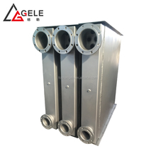 Top performance stainless steel tubular mini heat exchanger for cooling the bearing oil in the engine