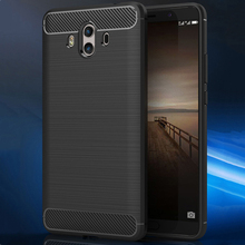 tpu brush case for huawei smart phone mate 10 case silicone soft back cover for huawei mate 10