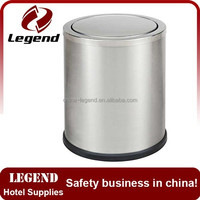 Unique design and high quality stainless steel trash bin