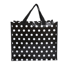 New design wholesale shopping bag laminated recycled pp woven bag