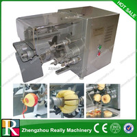 HHigh capacity automatic Stainless Steel apple peeler corer slicer /apple corer machine
