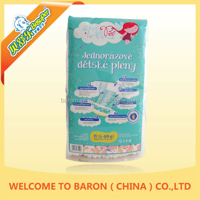 Universal hot product well sale baby useful competitive price super absorbent diaper disposal
