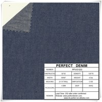 100 cotton light weight denim fabric for jeans shirt