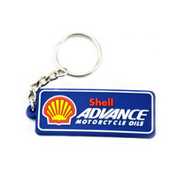 Custom Rubber key ring chain 3d soft pvc keychain for business gift