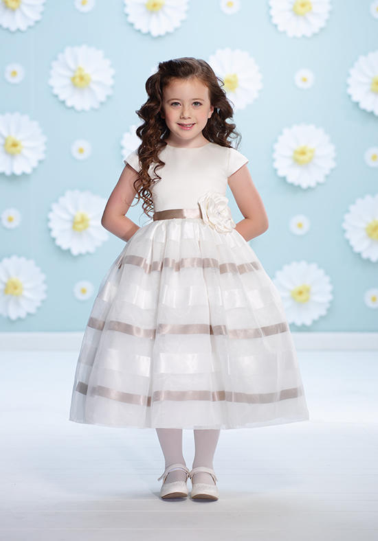 2015 baby-girl-party-dress-children-frocks-designs kids dress decoration flowers dress strapless child