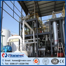 Vacuum distillation biodiesel plant/equipment for sale