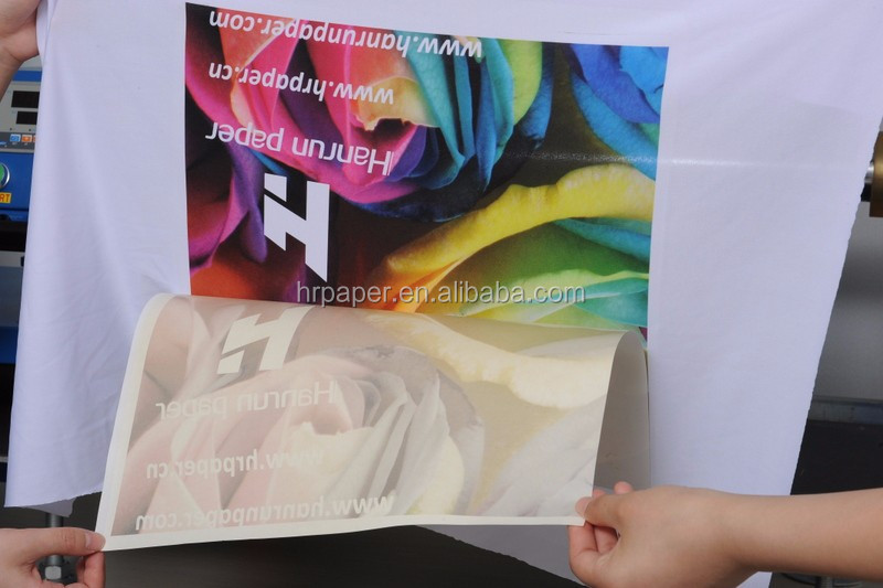 "64'' 100gsm Super Sticky/Tacky Adhesive Sublimation Paper Roll for Mutoh ValueJet 1624W 64"" Wide Format Sublimation Printer"