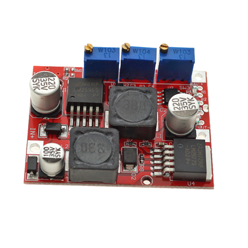 DC-DC Step Up Down Boost buck converter Voltage Power <strong>Module</strong> LM2577S LM2596S