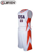 Wholesale Team USA Basketball Jersey Custom Design Your Own Basketball Jerseys