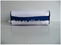 white color 1680D polyester large capacity cosmetic case