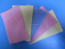 Easy to wash nonwoven cleaning wipes , lint free,strong decontamination