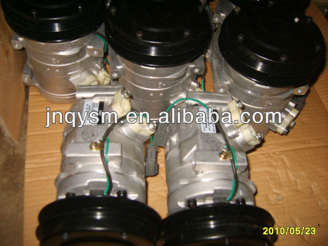 excavator PC220-7 air conditioner compressor