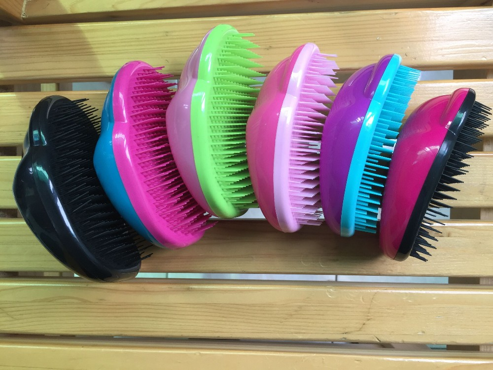 magic detangling hair brush for kids size