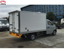 2ton small freezer truck thermo king meat transportation cooling van truck
