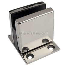 custom stainless steel chrome plated glass mounting bracket,glass panel mounting bracket
