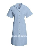 Women's Hotel Housekeeping Short Sleeve Dress