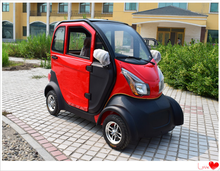Low-carbon travel, environmental protection, electric four-wheeled car.