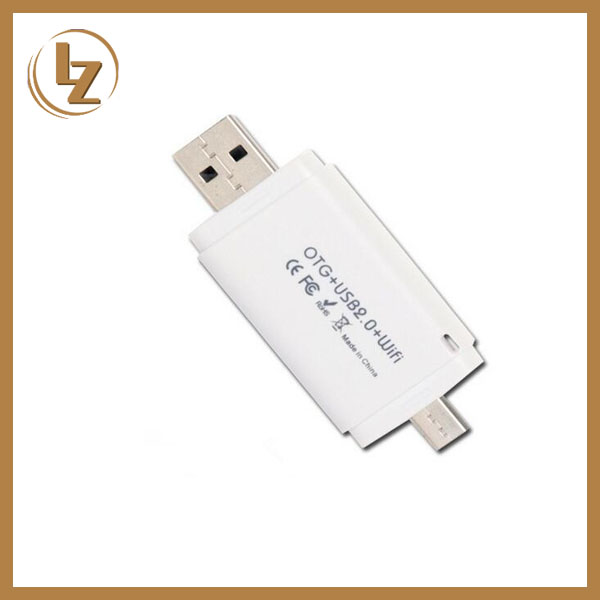 New Memory Stick Metal OTG USB Flash Drive 2.0 for Mobile Phone and PC with WIFI