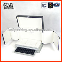 High-top PU Leather Luxury Perfume Box Customized (HSD-H3688)