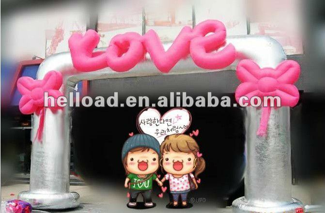 inflatable decorative wedding arches