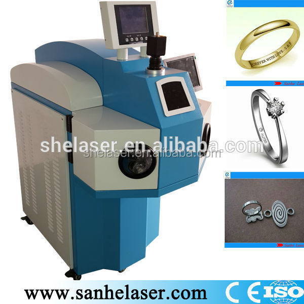 200w laser welding machine for jewelry metal parts and stainless steel color with low price