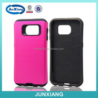 Hot selling Soft tpu and hard pc hybrid case for Samsung Galaxy S6
