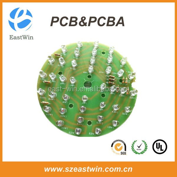 High 94vo Power LED PCB with Low Cost