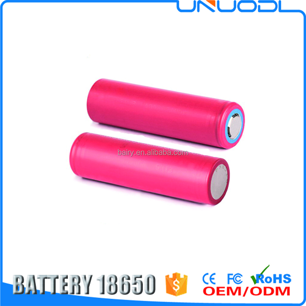 Original rechargeable li-ion 18650 battery UR18650 FM 2600mah