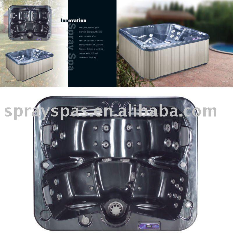 Spa ext rieur bain remous baignoire remous e 370s for Fourniture salle de bain