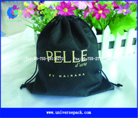 small non woven drawstring bag pouch