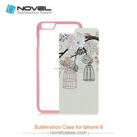 For iphone 6 2d sublimation case,dye sublimation blanks