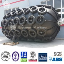 Marine pneumatic boat rubber fender with ISO17357 and CCS