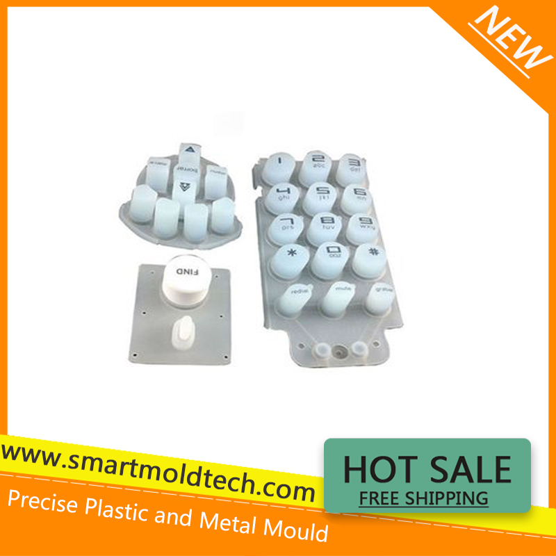 Membrane keypad plastic enclosure with decor seal
