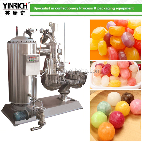 LX400 Continuous Vacuum cooker for hard boiled candy