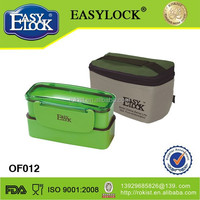 Plastic 2 section key lock box with cutlery