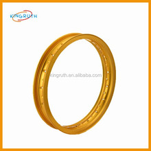 "with top quality different sizes ""H"" style CNC motorcycle aluminium wheel rim"