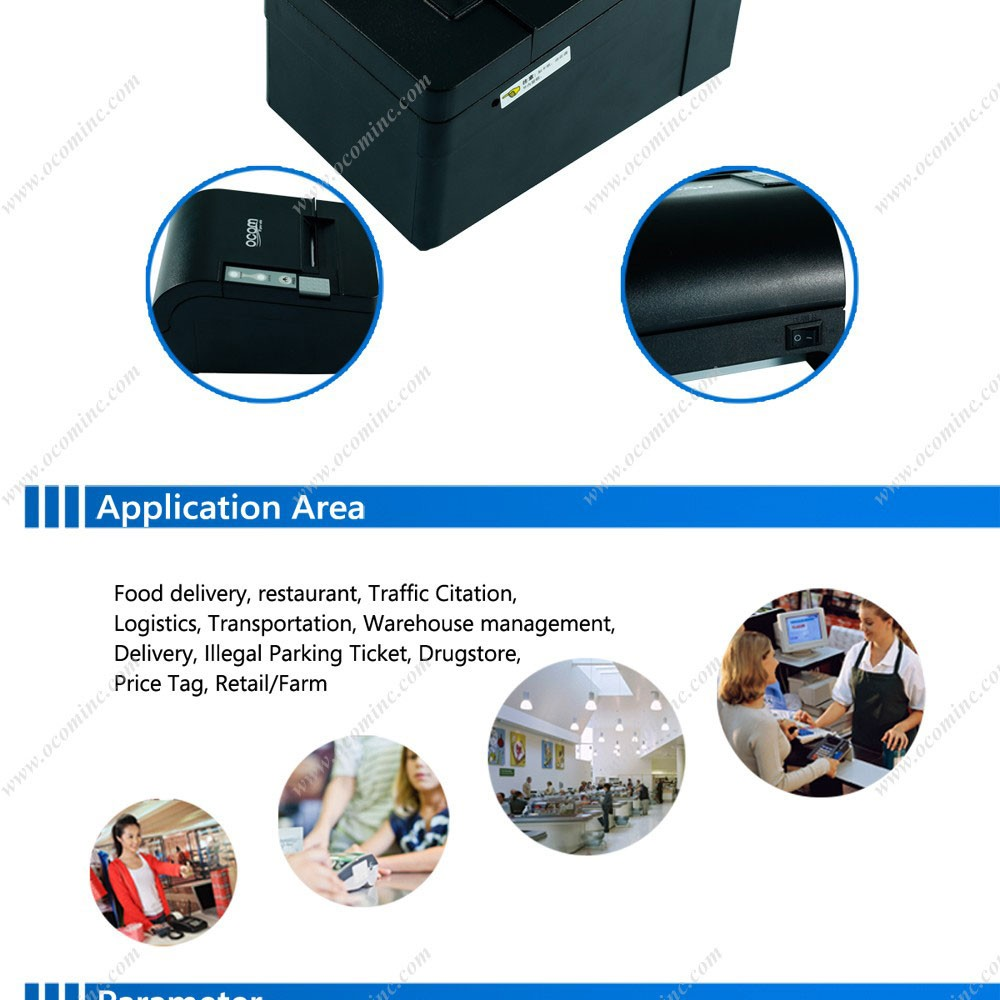 OCPP-58C Thermal Printer Mini Portable Bill Printer
