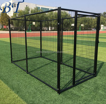 Dog Cage Large Outdoor Welded Mesh Dog Kennel/dog run fence wholesale