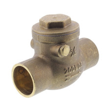"3/4"" Solder Ends Swing Check Valve, Lead Free"