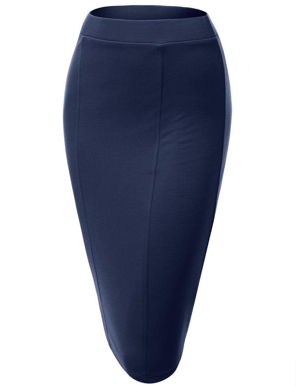 ae3afb5900e Get Quotations · 2015 Hot sale women midi office bandage Skirts plus size  khaki skirt High Waist Knee-
